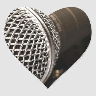 Microphone Mixer Cable Microphone Cable Singing Heart Sticker