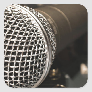 Microphone Mixer Cable Microphone Cable Singing Square Sticker