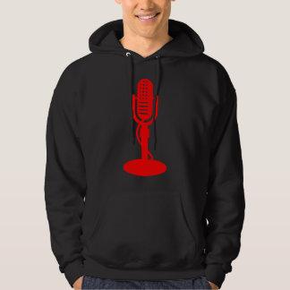 Microphone - Red Hoodie