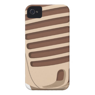 Microphone Sound iPhone 4 Case