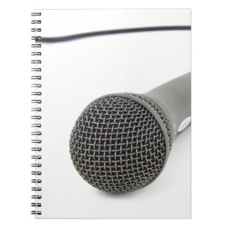 Microphone - Talk to me Notebook