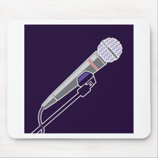 Microphone Vector Mouse Pad