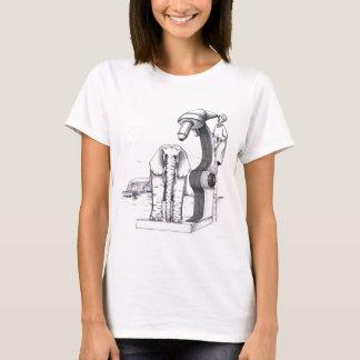 Microscope and an Elephant T-Shirt