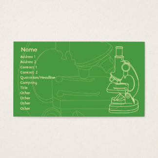 Microscope - Business Business Card