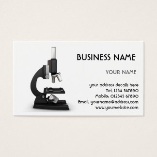 Microscope Business Card
