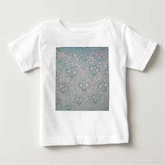 Microscope photo of a bamboo stem. baby T-Shirt