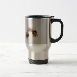 Microscope photo of an ant travel mug