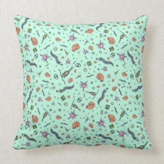 Microscopic Animals Cushion