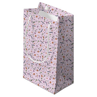 Microscopic Animals in Pink Small Gift Bag