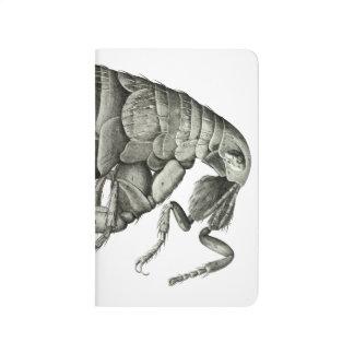 Microscopic flea journal