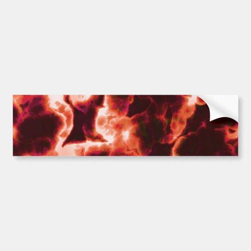 Microscopic Red Cells Bumper Sticker