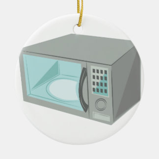 Microwave Ceramic Ornament