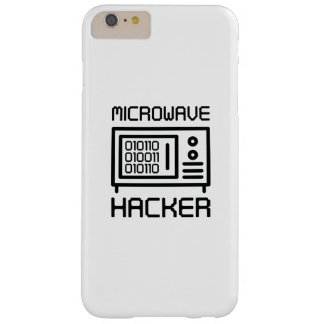 Microwave Hacker Barely There iPhone 6 Plus Case