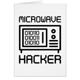 Microwave Hacker Card