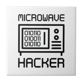 Microwave Hacker Tile