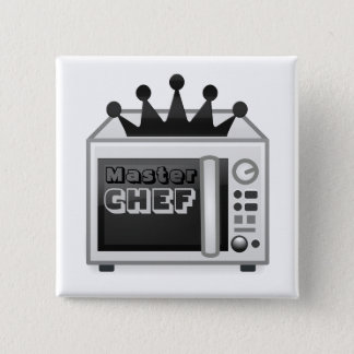 Microwave Master Chef 2 Inch Square Button