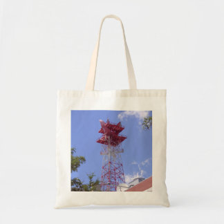Microwave Relay Radio Telecom Tower Tote Bag
