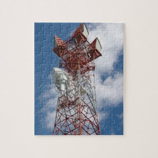 Microwave Telecommunications Tower Jigsaw Puzzle