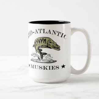 Mid-Atlantic Muskies Two-Tone Mug