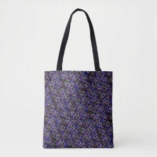 Mid Centry Mod Crazy Tote Bag