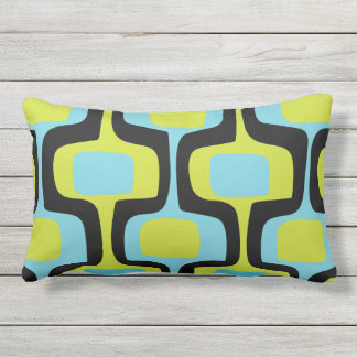 Mid Century Pillows, Rectangular Mid Century Throw Pillows