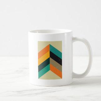 Mid Century Chevron Coffee Mug