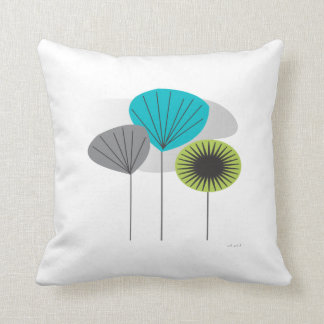Mid Century Eames Inspired Pillow  Seed Pods