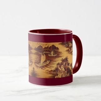 Mid-century Hawaiian design Mug