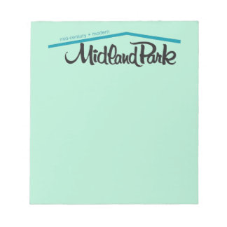 """Mid-Century + Modern 5.5"""" x 6"""" Notepad - 40 pages"""