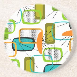 Mid-Century Modern Abstract #57 Coaster