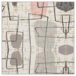 Mid Century Modern Abstract Fabric