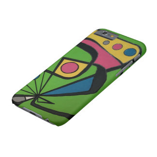 'Mid Century Modern Abstract num 4' on a Barely There iPhone 6 Case
