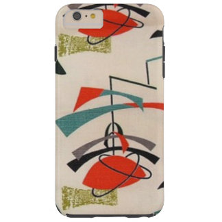 Mid Century Modern Atomic Fabric iPhone 6 Case