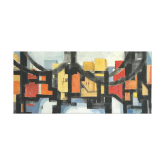 Mid-Century Modern Bridge, 1967 Canvas Print