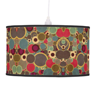 Mid-century Modern Circle Pattern Lamp Shade