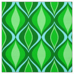 Mid-Century Modern Diamonds, Emerald Green Fabric