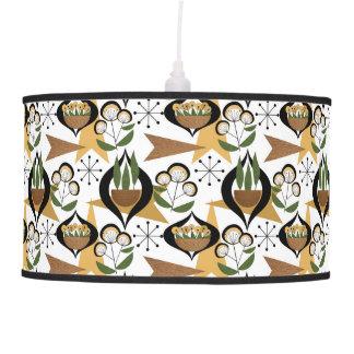 Mid-Century Modern Houseplants | Atomic Style Hanging Pendant Lamp