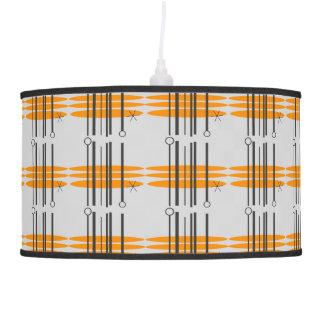 Mid Century Modern Print Lamps