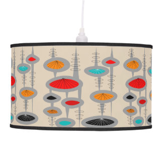 Mid-Century Modern Style Lamp Abstract #7