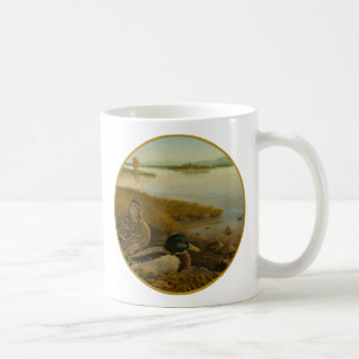 Mid-Day Sunning Circle Mug