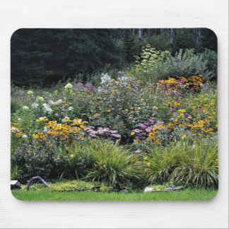 Mid Fall Gardens Mouse Pad