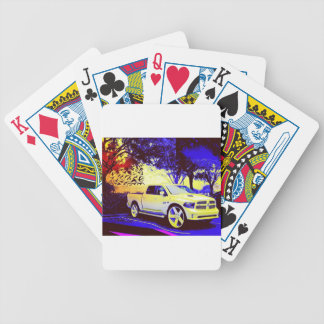 MID-KNIGHT TRUCK STOP BICYCLE PLAYING CARDS