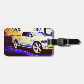 MID-KNIGHT TRUCK STOP LUGGAGE TAG