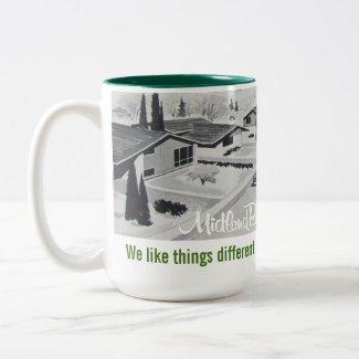 Midcentury Modern Architecture Mug