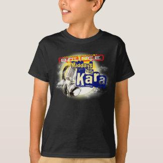 Middays With Kara Kid's Black TShirt