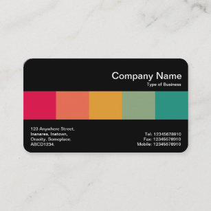 Middle business cards profile cards zazzle ca middle band black colours business card reheart Choice Image