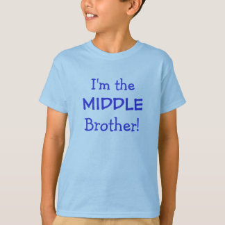 Middle Brother Kids T-Shirt