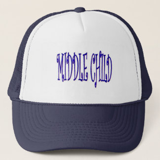Middle Child Blue and White Cap