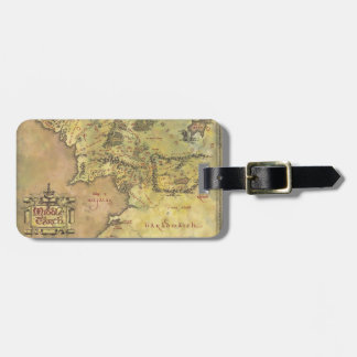 MIDDLE EARTH™ #2 Map Luggage Tag