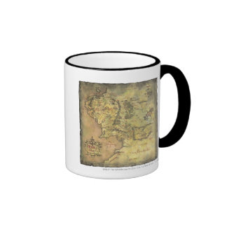 MIDDLE EARTH™ #2 Map Ringer Coffee Mug